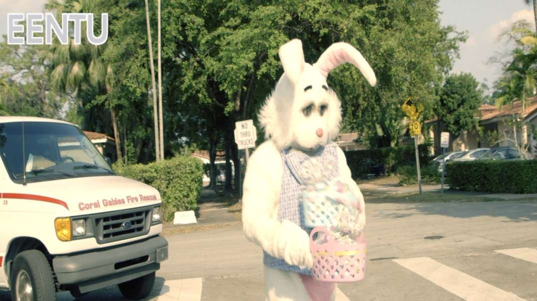 At the City of Coral Gables The Easter Bunny