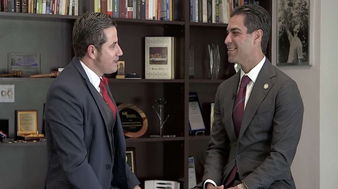 Excellent interview with Mayor of Miami Florida Francis Suarez