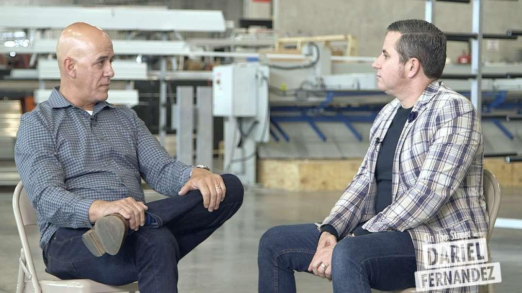 Una entrevista especial que representa el trabajo fuerte