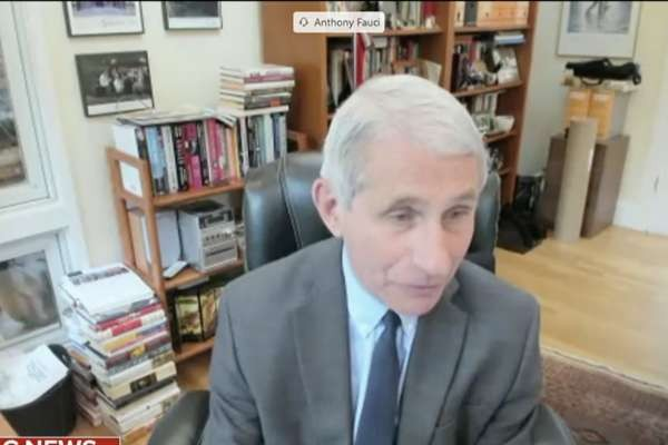 "Fauci warns of ""serious"" consequences if U.S. reopens too soon"